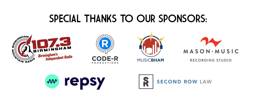 Magic City Songwriting Contest 2021 Sponsors