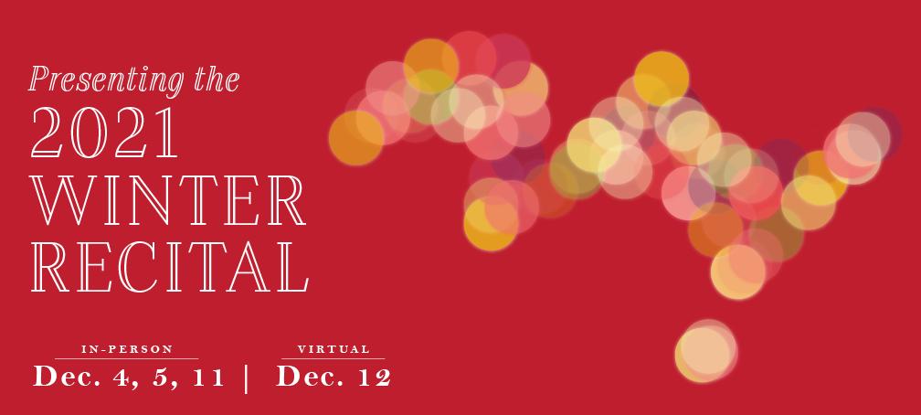 Mason Music Winter Recital 2021