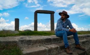 Manuel Gibran en Xochitecatl