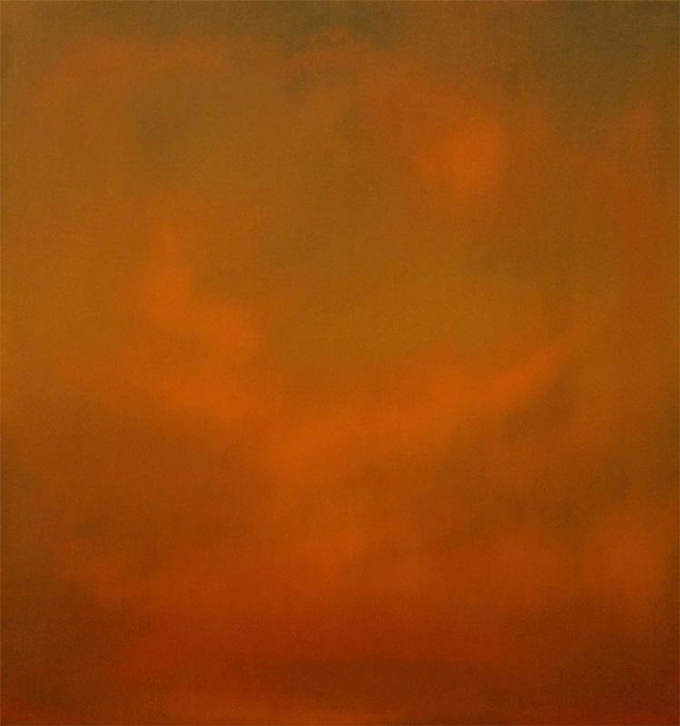 """Nature Morte Oil on Linen 16""""x15"""" 2000"""