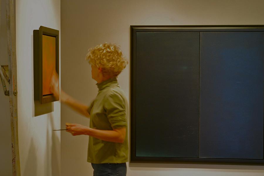 Elen Feinberg in her Albuquerque Studio