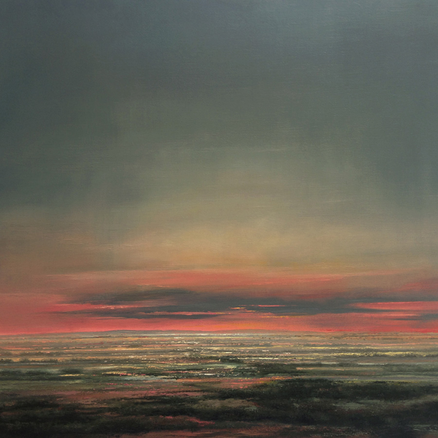 "Sunset 32"" x 38"" 2000"