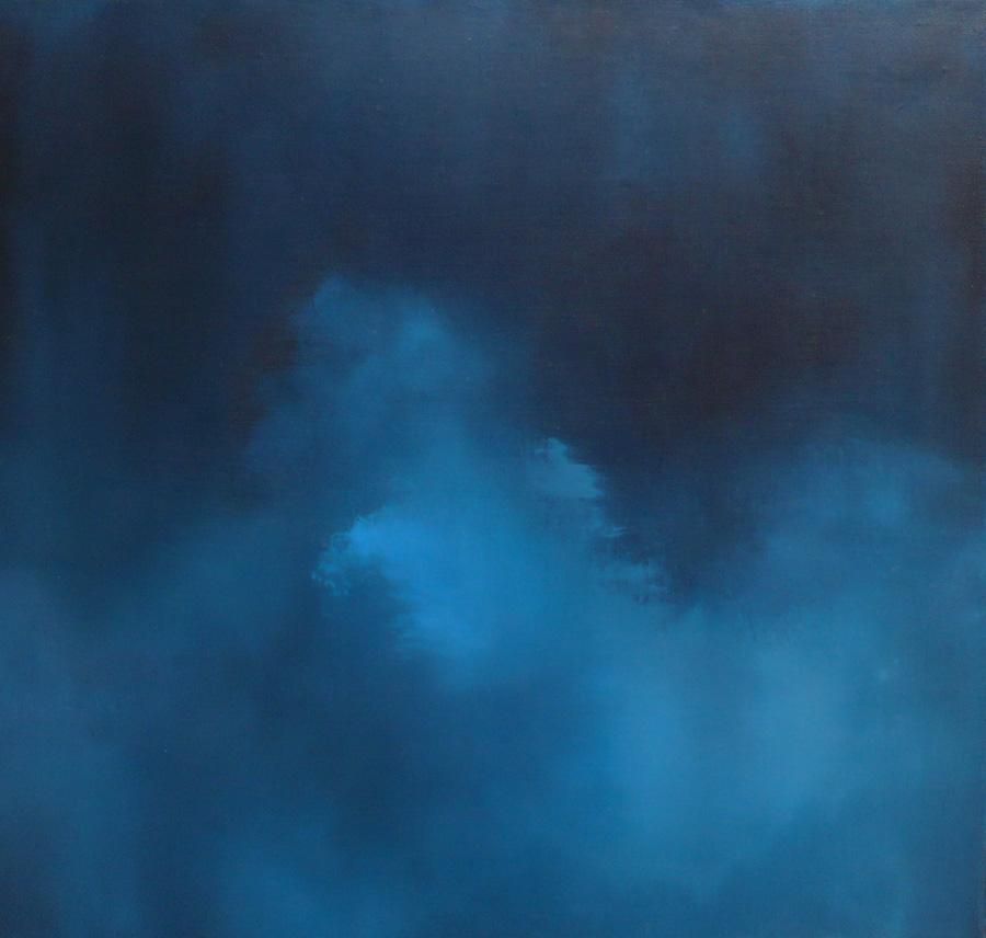 """Nocturne XXXX Oil on linen 24"""" x 30"""" 2001"""