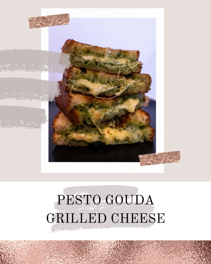 AZARAM | Pesto Gouda Grilled Cheese
