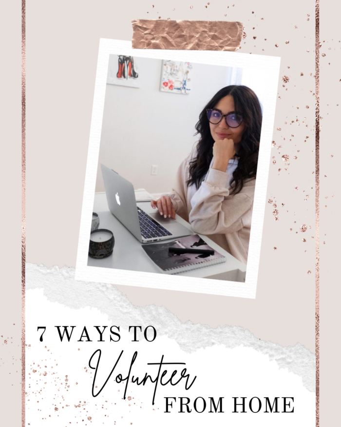 AZARAM | 7 Ways to Volunteer From Home