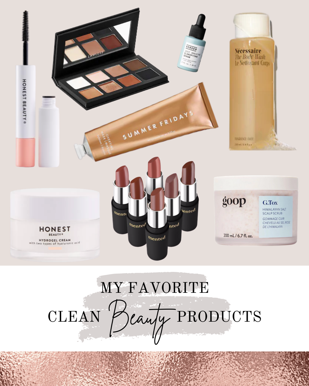 AZARAM   My Favorite Clean Beauty Products