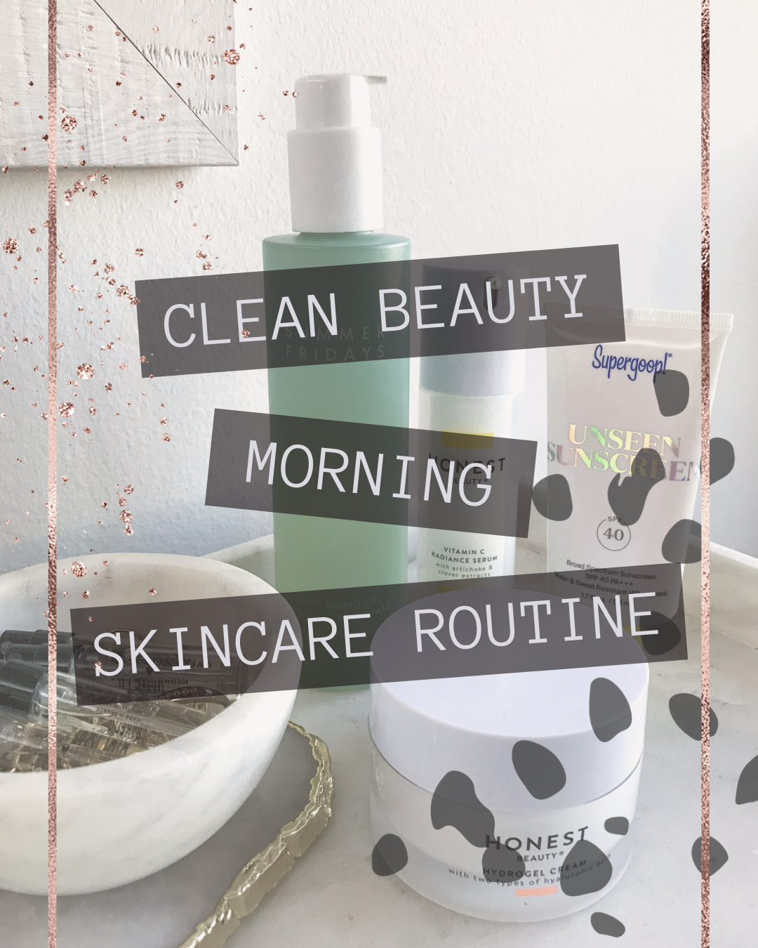 morning skincare