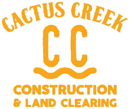 Cactus Creek Construction Logo