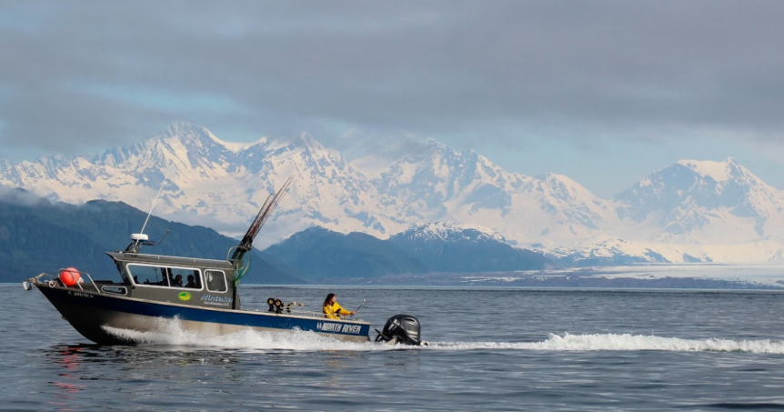 Alaskan fishing season comes to a close in September.