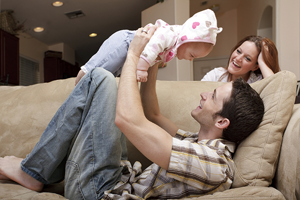 young-family-at-home