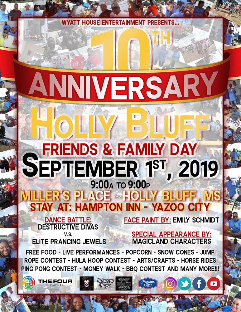 Holly Bluff Friends & Family Day
