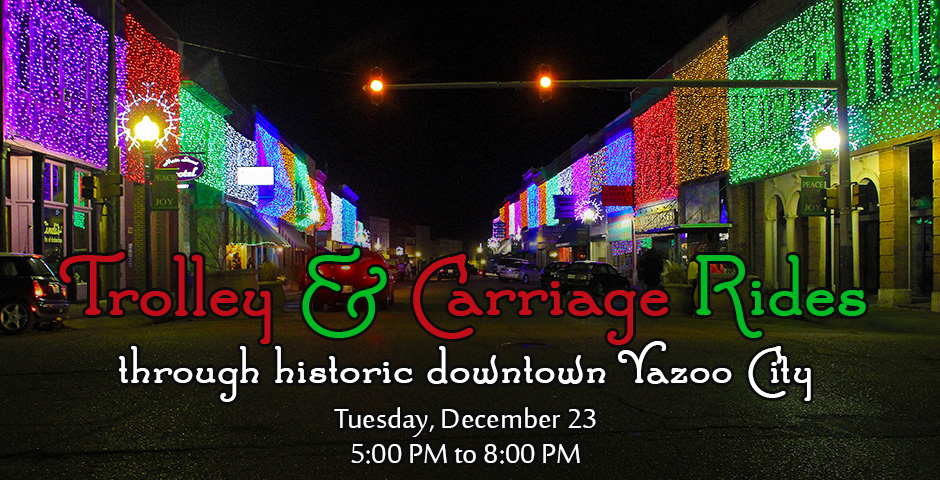 Christmas Carriage and Trolley Rides
