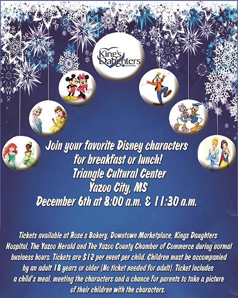 KDH Disney Christmas Event