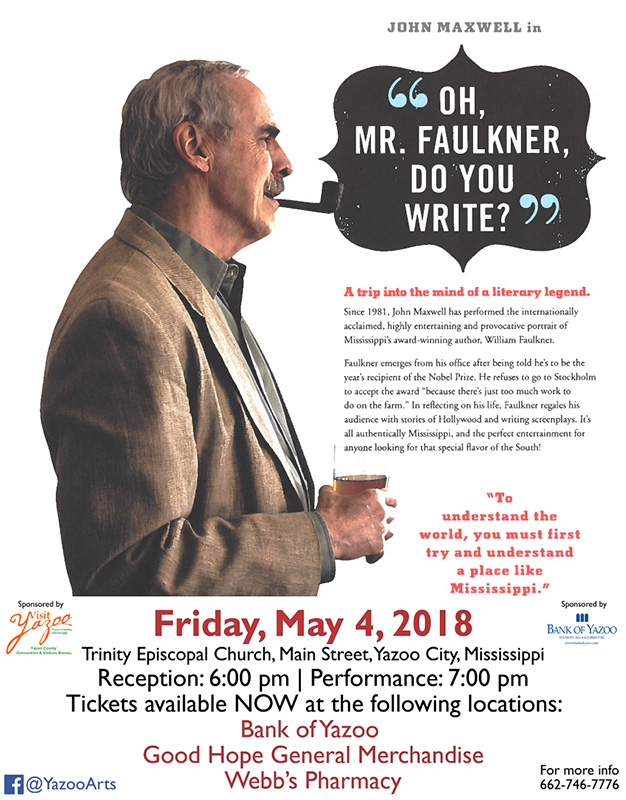 Oh, Mr. Faulkner, Do You Write?