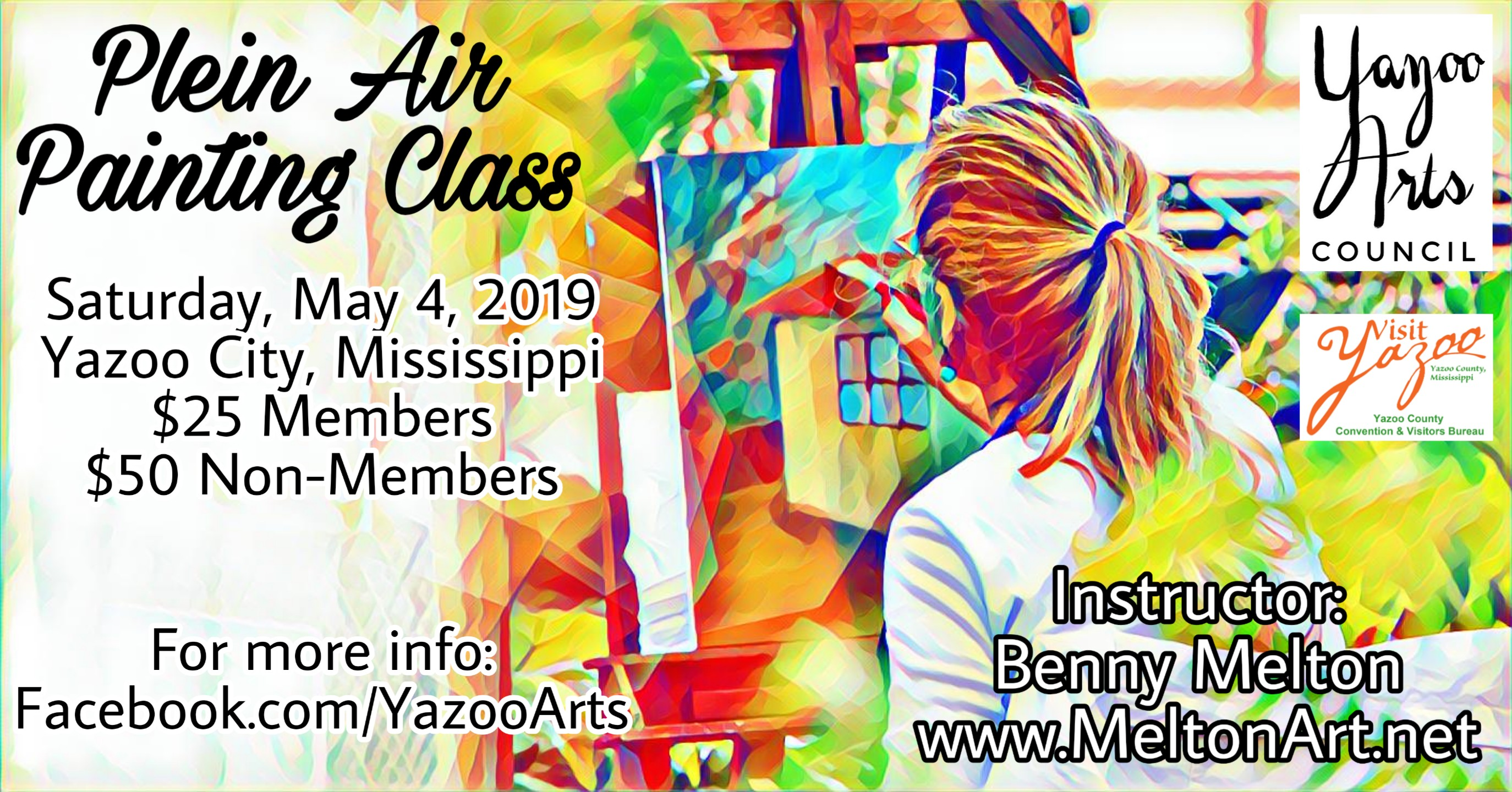 Plein Air Painting Class by Benny Melton