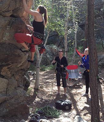 rock climbing ministry