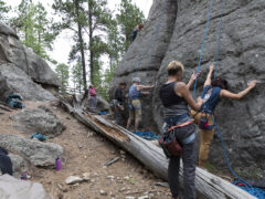 Rapid City Rock Climbing