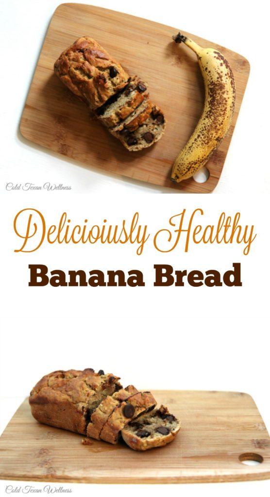 Delicioius and Healthy Banana Bread