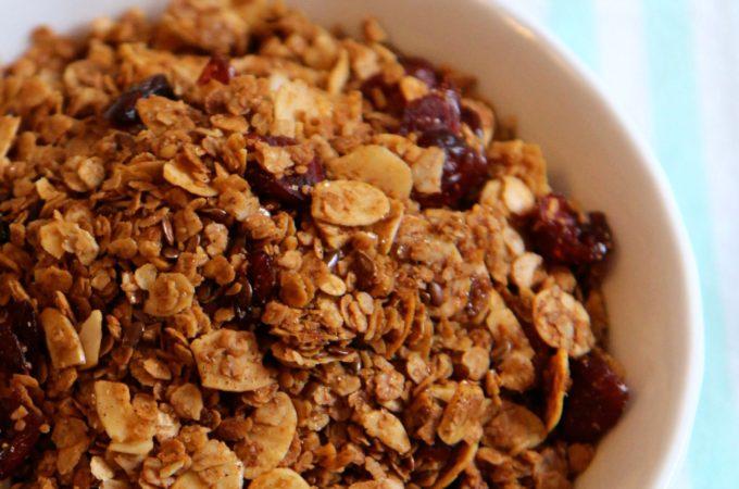 Cranberry Almond Granola Recipe
