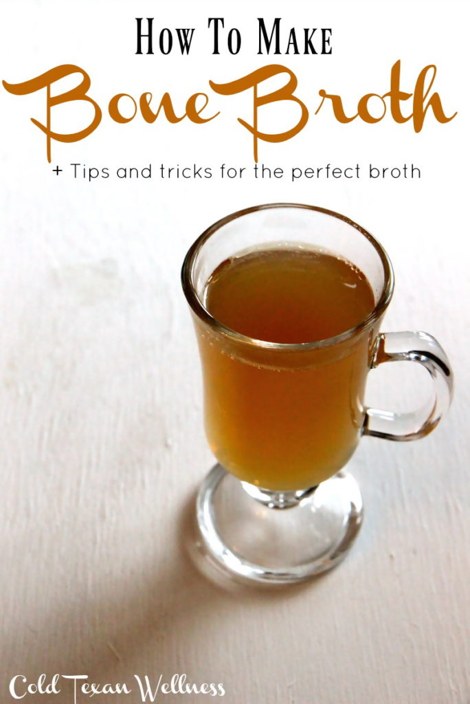 How to make healthy bone broth perfectly every time. A cup a day keeps the doctor away!