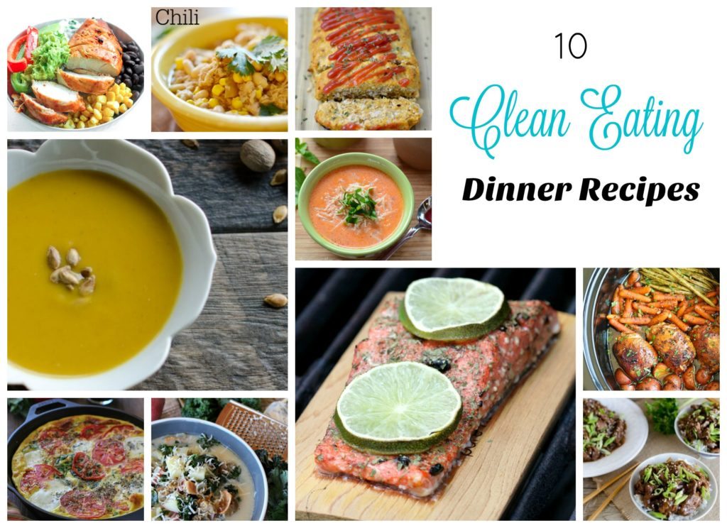 10 Clean Eating Dinner Recipes