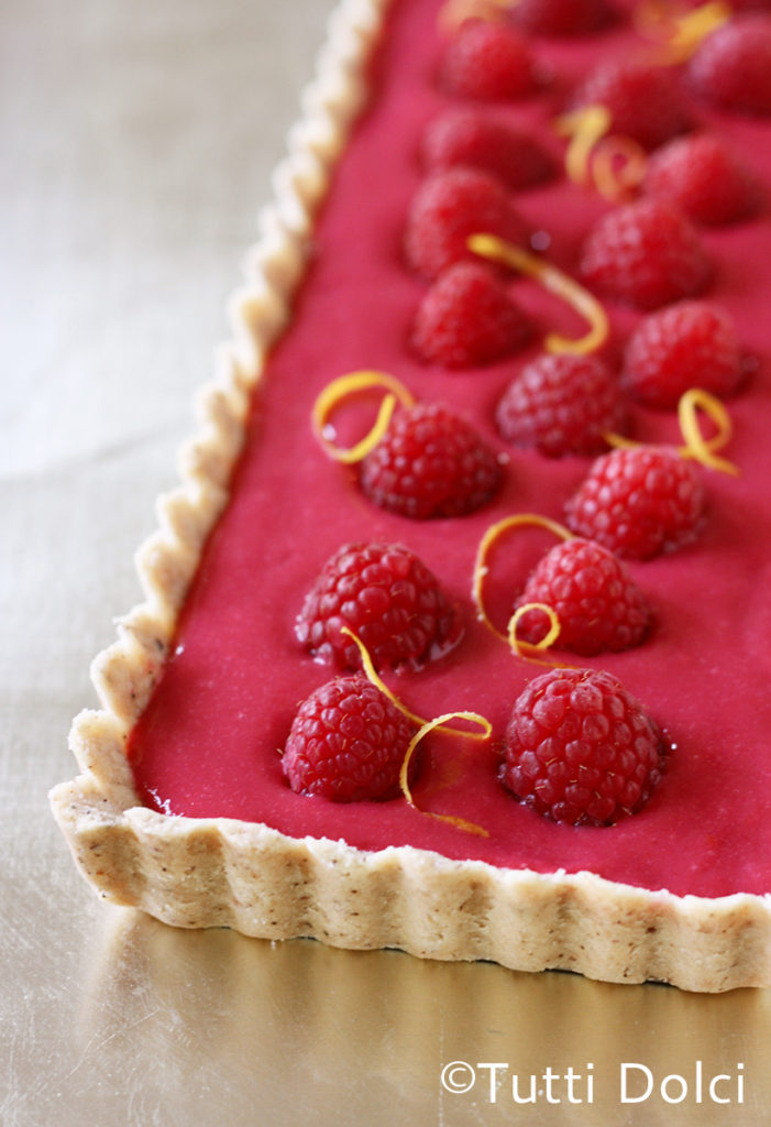 Romantic Homemade Dinners - Raspberry Curd Tarts from Tutti Dolci