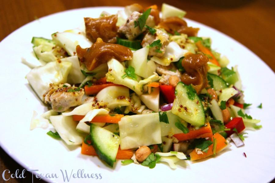 Crunchy Thai Chicken Salad