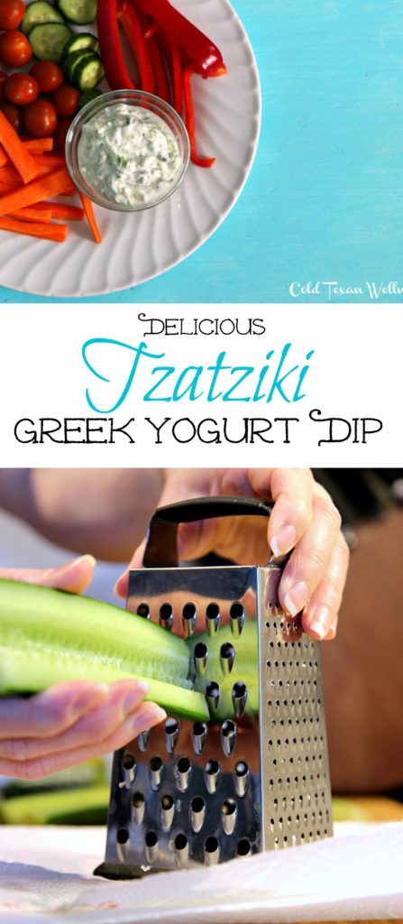 Simple Healthy Tzatziki Sauce: a beautifully light and refreshing greek yogurt sauce. Can also be used as a healthy dip!! A perfect meal prep item to keep you eating healthy all week long