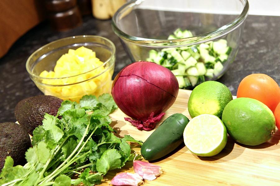 healthy tropical ceviche recipe