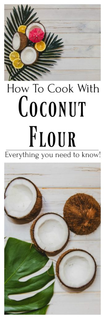 Have you ever tried baking with coconut flour? Working with gluten free flours can be challenging. Use this guide to help you switch. Learn to cook and bake with coconut flour.