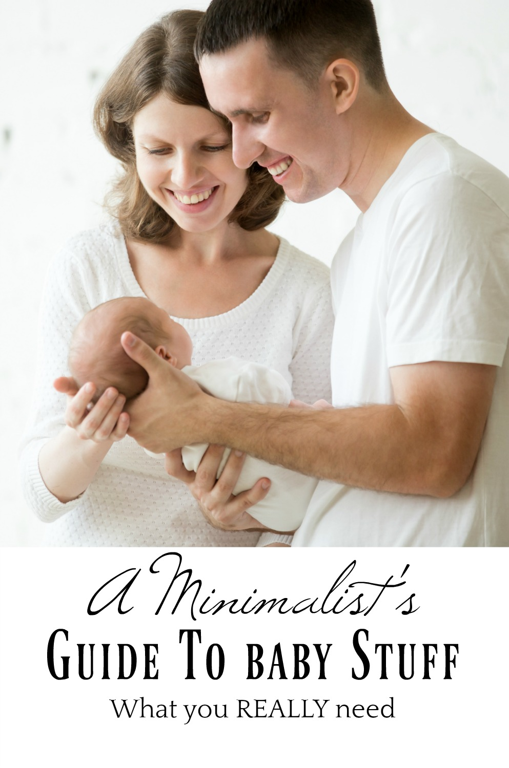 A minimalist baby registry - What you really need and use when baby comes home