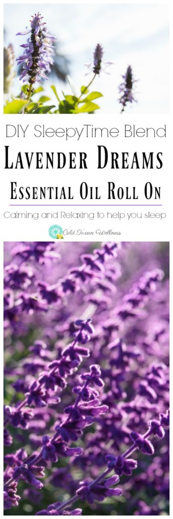 DIY Lavender Dreams Essential Oil Roll On. The perfect sleepy time blend, perfect for babies and kids. Help the whole family fall asleep with essential oils.
