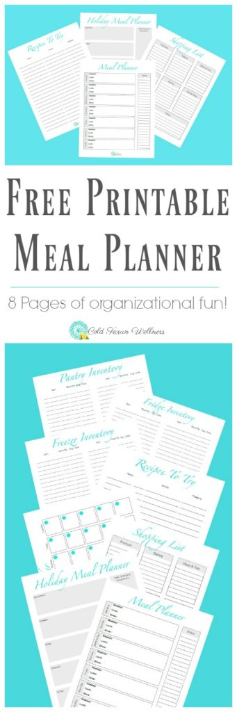8 Ways Weekly Meal Planning is The Key To Your Success + FREE 8 page printable meal planner