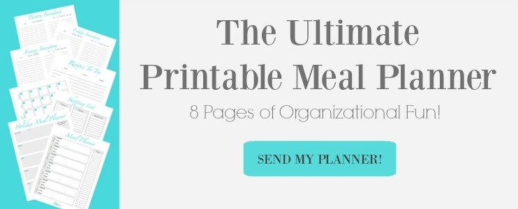 The Ultimate Printable Meal Planner