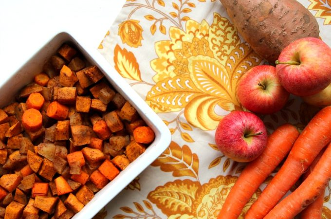 Delicioius and healthy sweet potato and apple bake. 21 day fix recipe, paleo recipe, gluten free, healthy, and kid approved!