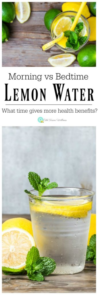 It's no secret that drinking lemon water can give miraculous health benefits, but did you know that those benefits can differ depending on the time of day?? Is morning or bedtime better?