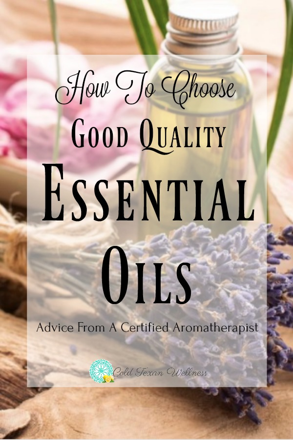 How To Choose Good Quality Essential Oils. Use these 5 tips from a certified aromatherapist to find 100% therapeutic grade essential oils. The first post in a series of essential oils for beginners. #essentialoils #essentialoils101 #essentialoilsforbeginners #aromatherapy