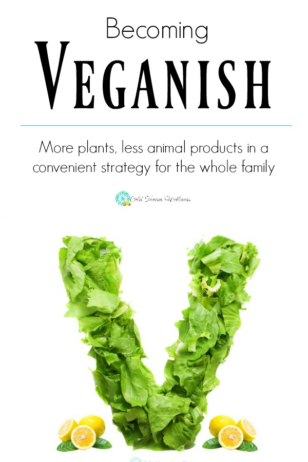 """Becoming a vegan can be an intimidating step. And one that doesn't always work in someone's lifestyle. This is where becoming """"veganish"""" can help you improve your health with a more plant based diet and help the environment as well. #veganish #plantbasednutrition #savetheplanet #holistichealth #healthandwellness #holisticwellness #vegandiet"""