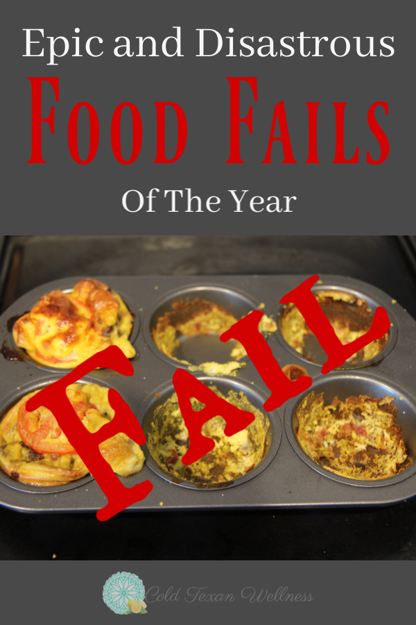 The epic and disastrous food fails of the year!