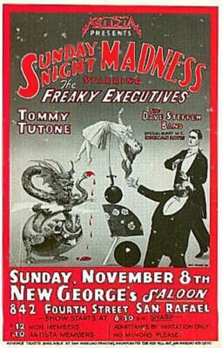 Sunday Night Madness Poster