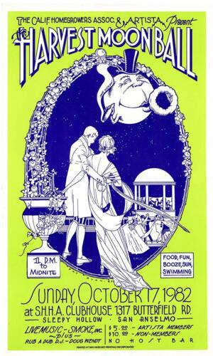 Harvest Moon Ball Poster