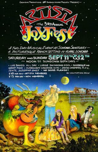 3rd Annual Joyfest Poster