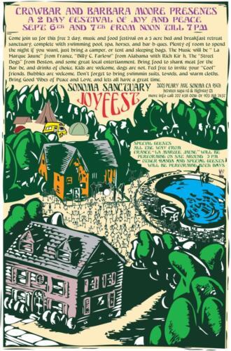 Sonoma Sanctuary Joyfest