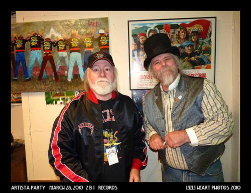 Pat Ryan and Professor Poster