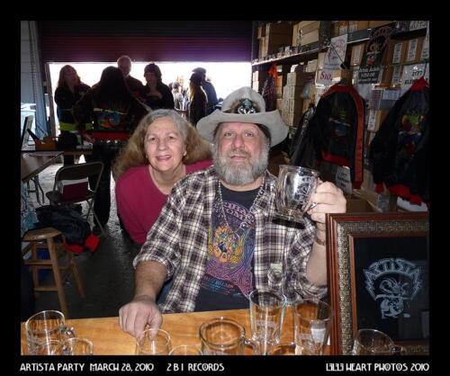 Rob Lee and Sue Fair