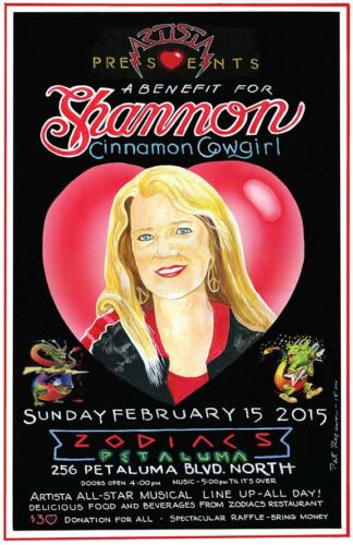 Shannon Benefit Poster