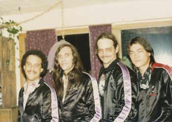Steve Keyser, John Cipollina, Charley kaiser, joe sagara 1982