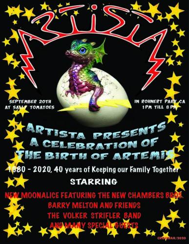 Artista Presents a Celebration of The Birth of Artemis