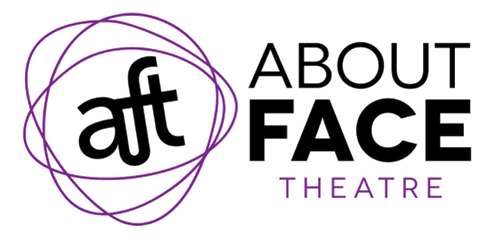 About Face Theatre Logo