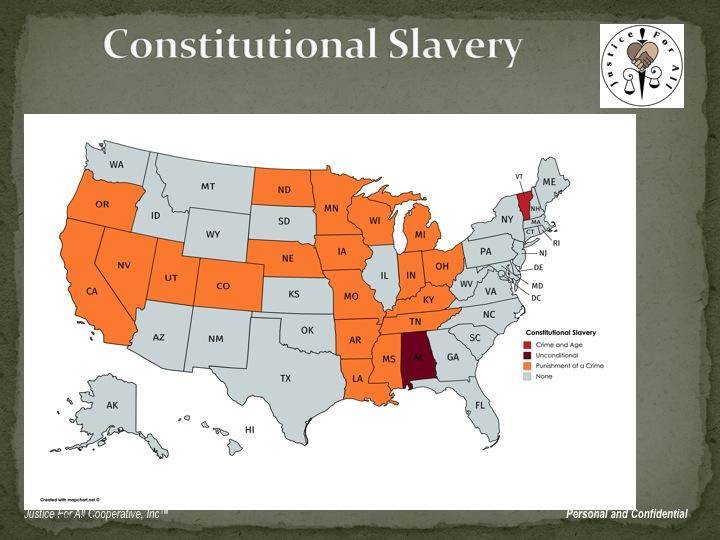 Open Letter to the Senate Pro Tempore and Senators White, Sears, Pollina, Cummings, Brooks and Ingram Regarding a Resolution Proposing the 2019 Senate Amend the Constitution to Remove Slavery